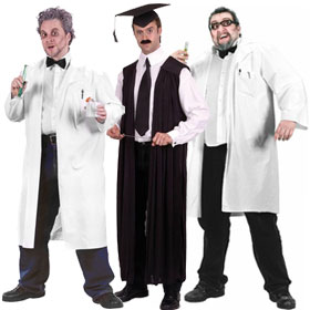 College Professor Costumes