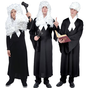 Colonial Judge Costumes
