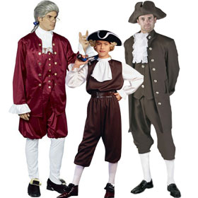 Colonial Man Costumes