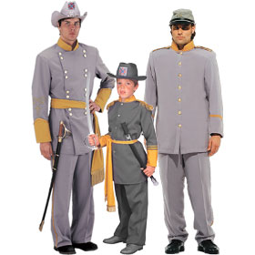 Confederate Soldier Costumes