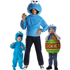 Cookie Monster Costumes