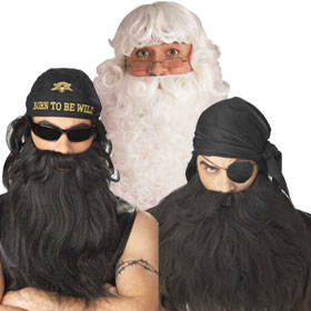 Costume Beards & Moustaches