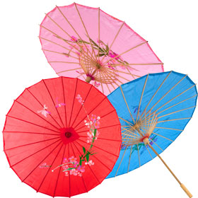 Costume Chinese Umbrellas