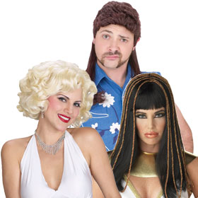 Costume Wigs by Theme