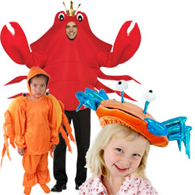 Crab Costumes  sc 1 st  Brands On Sale & Sea Creature Costumes | Fish Dolphin Whales Seahorse Shark and ...