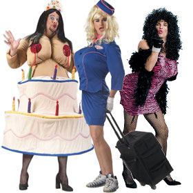 Cross Dresser Costumes Mardi Gras