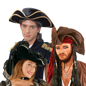 Deluxe Pirate Hats