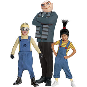 Despicable Me Movie Costumes