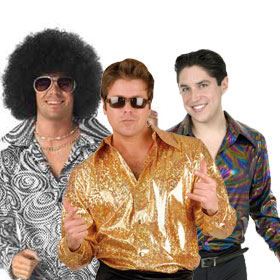 Disco Costume Shirts