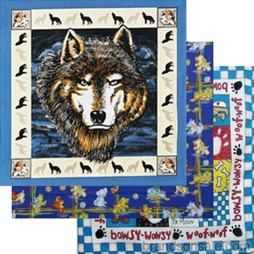 Dog Design Bandanas