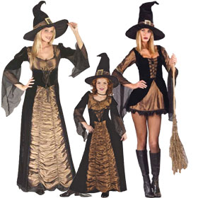 Elegant Witch Costumes