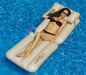 Flip Top Inflatable Lounger