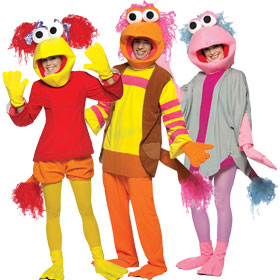 Fraggle Rock Costumes