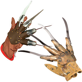 Freddy Krueger Gloves
