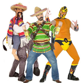 Funny Mexican Costumes
