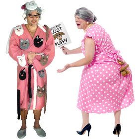 Funny Old Lady Costumes