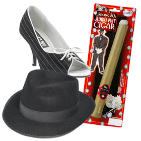 Gangster Costume Accessories