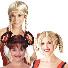 German and Bavarian Wigs