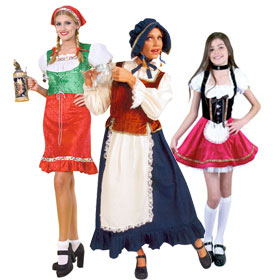 German Maiden Costumes
