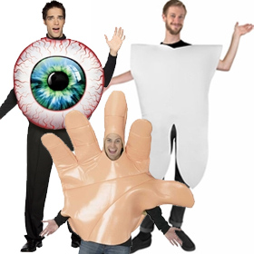 Giant Body Part Costumes