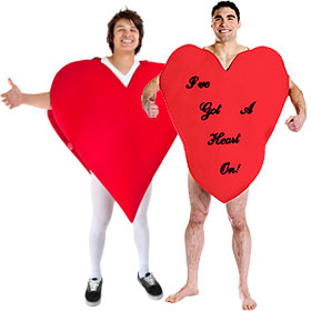 Giant Heart Costumes