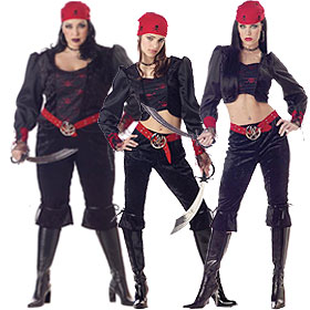Gothic Pirate Costumes