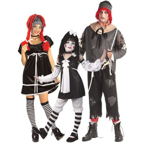 Gothic Rag Doll Costumes