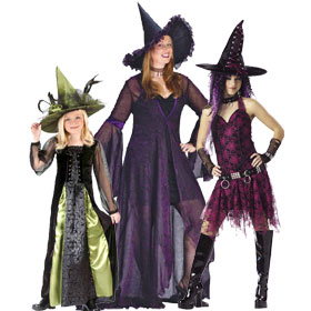 Gothic Witch Costumes