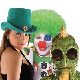 Green Costume Accessories
