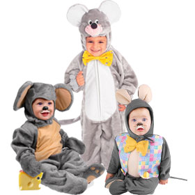 Grey Mouse Costumes
