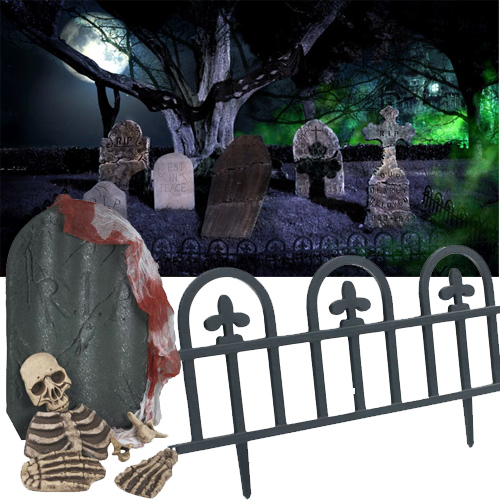 Halloween Tombstones And Gravestones