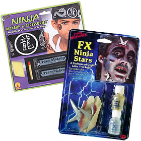 Halloween Ninja Makeup Kits
