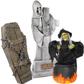 Halloween Props - 100's On Sale Now