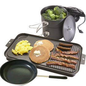 Hard Anodized Camping Cookware