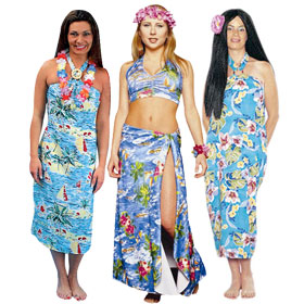 Hawaiian Girl Costumes