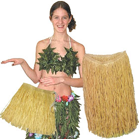 Hawaiian Grass Skirts