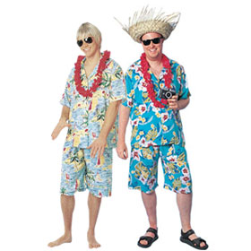 Hawaiian Tourist Costumes