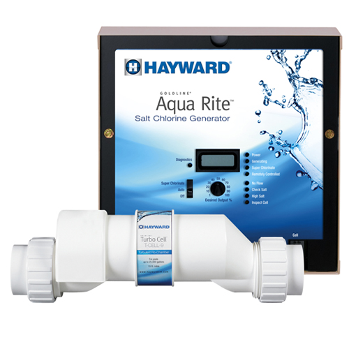 Hayward Aqua Rite Pool Salt System 25,000 Gallons