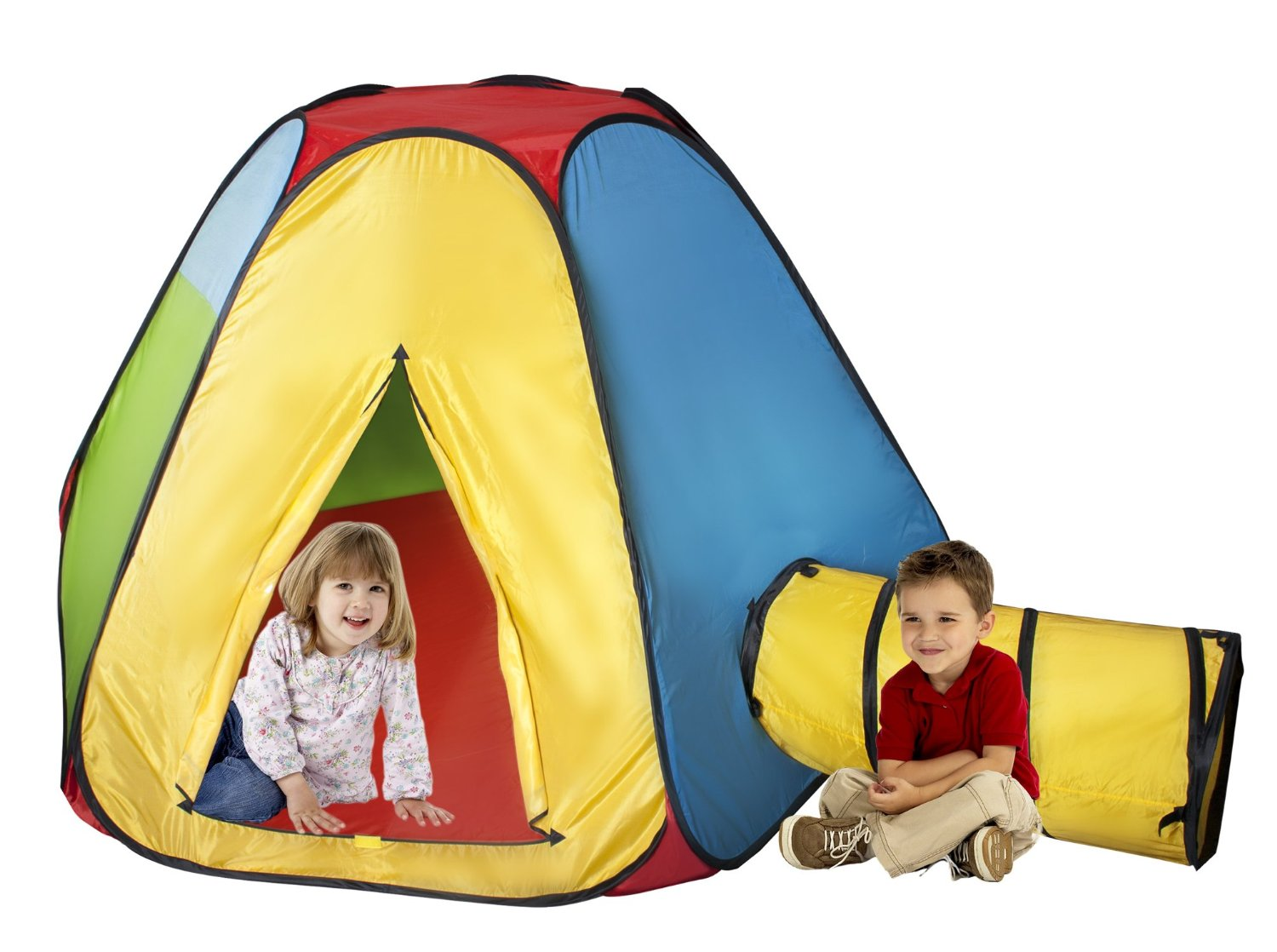 Hexagon Playhut Tent u0026 Tunnel  sc 1 st  Brands On Sale & Kids Playhuts and Tents | Toys u0026 Games | brandsonsale.com