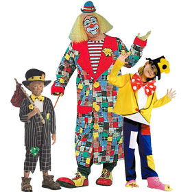 Hobo Clown Costumes