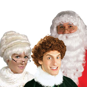 Holiday Character Wigs