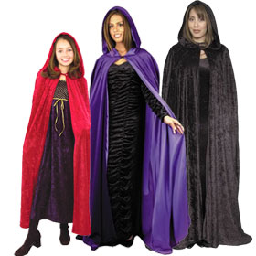 Hooded Capes & Cloaks