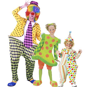 Hoop Clown Costumes