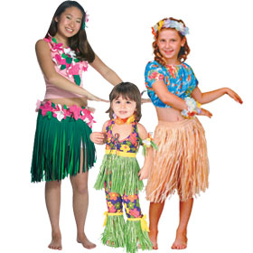 Hula Dancer Costumes