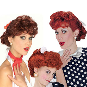 I Love Lucy Wigs