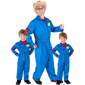 Imagination Movers Costumes