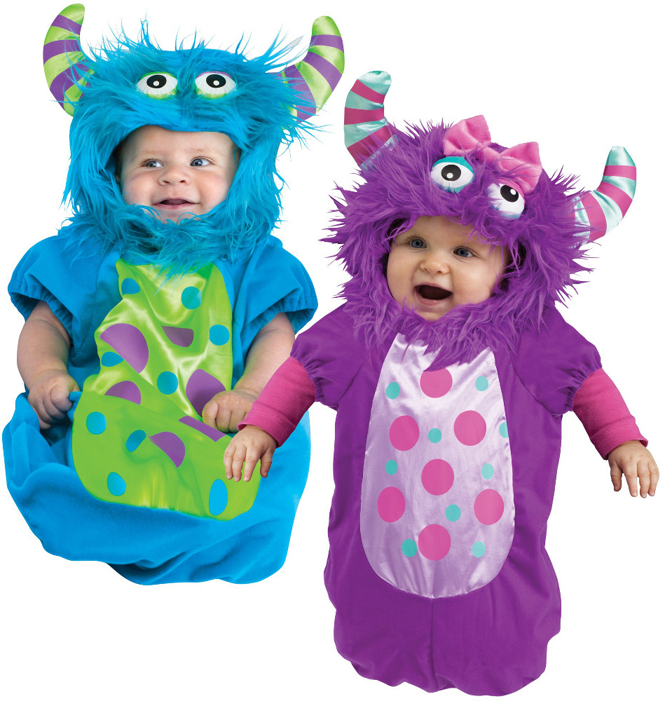 infant monster bunting costume - Baby Monster Halloween Costumes