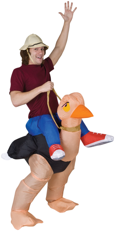 Inflatable Ollie Ostrich Costume