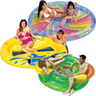 Inflatable Pool Island Lounges