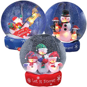 inflatable snow globes - Cheap Inflatable Christmas Decorations